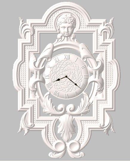 Часы №2 резные. Шикарные. Выкрас в любой цвет